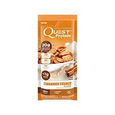 Quest Nutrition Protein Powder Cinnamon Crunch 20g 1g Net Carbs 80