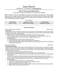 Sample Resume For Pharmaceutical Industry Sales Samp