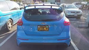 FoRS License Plate Idea List Attachments