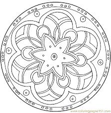 Mandala Coloring Page 07