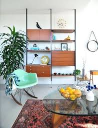 Mid Century Decor Ideas Functional Mid Century Wall Units Decorating