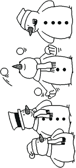 Frosty The Snowman Printable Coloring Book Free Christmas Pages Kids Images