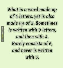 What is a word made up of 4 Letters stoc
