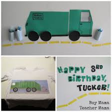 100 Trucks Paper Boy Mama A Trashy Celebration A Garbage Truck Birthday Party Boy