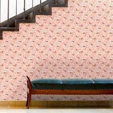 frühlings tapete kirschblüten spatz mit vögeln rosa vlies tapete blumen tiere frische wanddeko für küche