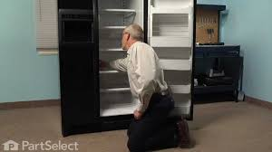 refrigerator repair replacing the light bulb whirlpool part