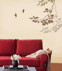 UncategorizedCreative Painting Ideas With Glorious Living Room Wall Paint Stencils Designs For