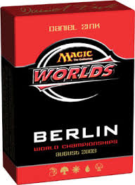 mtg world chionship decks 1997 world chionship decks 2003 theme deck daniel zink