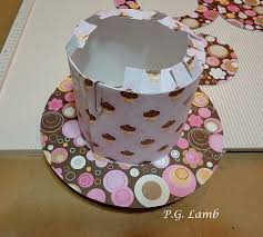 Peachy Paper Crafts Top Hat Tutorial