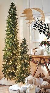 Skinny Pre Lit Christmas Trees Pencil Thin Stunning Slim Tree Decorating Ideas Celebrations Clearance