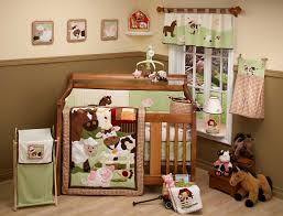 mist and gray owls crib bedding boy baby carousel designs 3 piece