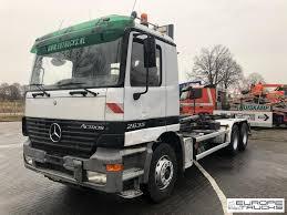 100 German Trucks MERCEDESBENZ Actros 2635 EPS 3 Pedals Truck Airco Hook