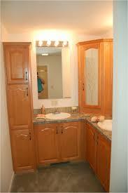 Bathroom Linen Cabinets Menards by Bathroom Linen Cabinet Fresca Fst2060mh Mahogany Tall Bathroom