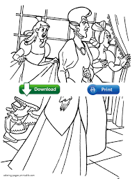 Lady Tremaine Coloring Page Of Cinderella