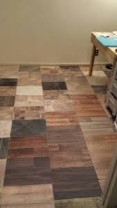 Free Floor From Mix And Match Tile Samples Makes A Great In My Craft Room Best Of All It Was FREE