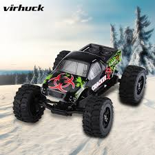 100 Mini Monster Trucks RC Truck Electric Car Offroad 132 24G 2WD 20kmh