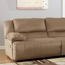 Ashley Furniture Hogan Reclining Sofa by Hogan Mocha Modular Sectional Signature Design By Ashley