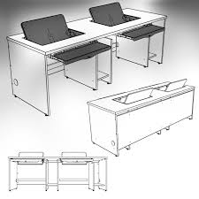Cpu Holder Under Desk Mount Nz by Classroom Computer Desks Pc Computer Desks For Classrooms Fi