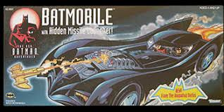 The New Batman Adventures Batmobile