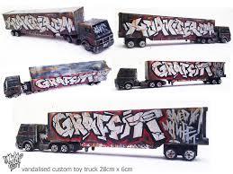 100 Custom Toy Trucks Hoaksers Blog Vandalised To Scale Custom Toy Graffiti