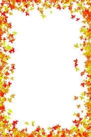 Fall border autumn clip art borders clipart for you image
