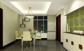 Best Image Of Modern Minimalist Dining Room Interior Design With Creative Wall Decoration For