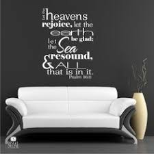 Bible Verse Wall Decals Psalm 9611
