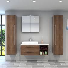 badmöbel set city 205 v7 eiche braun badezimmermöbel waschtisch 120 cm nein ohne led beleuchtung