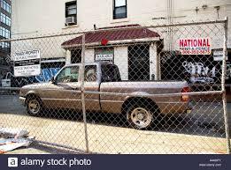 100 City Rent A Truck Merican Pickup Truck Bleecker Street Greenwich Village New York