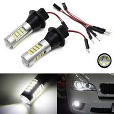 h8 9006 5202 smd led fog lights driving ls replacement