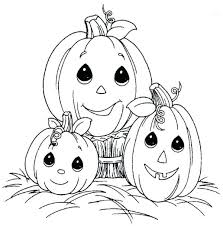Free Pumpkin Coloring Pages For Adults To Print Cute