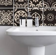 fliesenaufkleber für küche und badezimmer portugiesisch braun creme