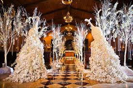 Winter Wonderland Ceremony At The Grand Del Mar Capella Chapel