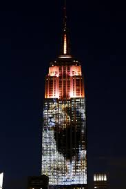 Cecil the Lion Joins Endangered Species in Empire State Building