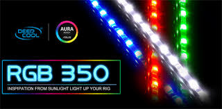 deepcool rgb 350 computer lighting kit led multi color and