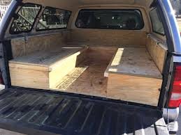 Image Result For Building A Sleeping Platform For A Pickup Truck Bed ...