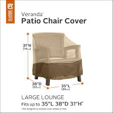 Classic Accessories Veranda Patio Lounge Chair Cover, Wayfair Chair ... Patio Seating Set Clearance Clic Veranda Table Chair Cover Large Outdoor Covers For Patio Fniture Fniture Tall Round 4 Chairs Covers For 1000345193 Capturafoto Proven Amazon Com Waterproof And Argos Outdoor Sectional Quality And Classic Accsories Standard Folding Armor Metal Cheapest Rectangular Bar Durable Water Resistant