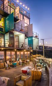 100 Sea Container Accommodation DesignForward Shipping Hotels Warehouse
