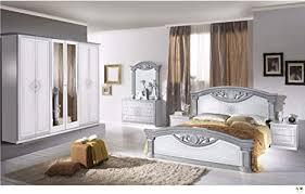 lingneble teva lackiert weiß und silber schlafzimmer