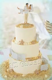 Beach Wedding Cake Decorations Sensational Idea 15 Cakes Ideas