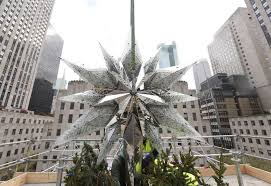 Rockefeller Plaza Christmas Tree Lighting 2017 by Star Aligns At Rockefeller Center Times Union