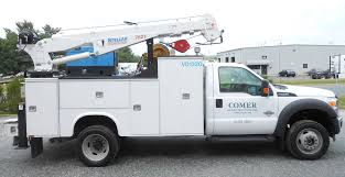 Comer Construction Expands Fleet With New Ford F550 Truck - Comer ... Preowned 2004 Ford F550 Xl Flatbed Near Milwaukee 193881 Badger Crew Cab Utility Truck Item Dc2220 Sold 2008 Ford Sd Bucket Boom Truck For Sale 562798 2007 Mechanics 2000 Straight Truck Wvan Allan Sk And 2011 Used 67l Diesel Utilitybucket Terex Hiranger Lt40 18 Classik Body On Transit Heavy Duty Trucks Van 2012 Crane 11086 2006 Service Utility 11102 Servicecrane 9356 Der