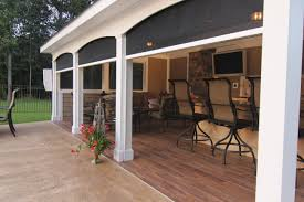 Diy Roll Up Patio Shades by Retractable Screens For Patio U0026 Lanai Stoett Industries