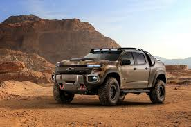 100 Totally Trucks Chevys New Army Truck Is A Silent OffRoad Beast Maxim