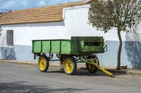 Download Old Farm Trailer Stock Image Of Province Town