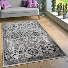 designer teppich wohnzimmer teppiche florale vintage optik