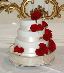 Beautiful Rose Wedding Cakes 2014 For Wedding 009