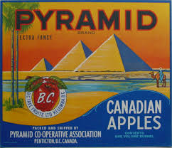 Apple Kitchen Decor Canada by Vintage Canadian Apple Crate Labels O U0027 Canada