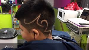 Barber Shop Hair Design Ideas by Hair Design Before And After Barber Shop Youtube