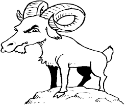 Goat Coloring Pages 80